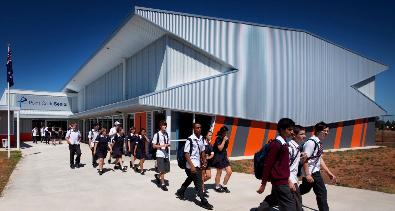 H2o Architects Melbourne 187 Point Cook Senior Secondary College