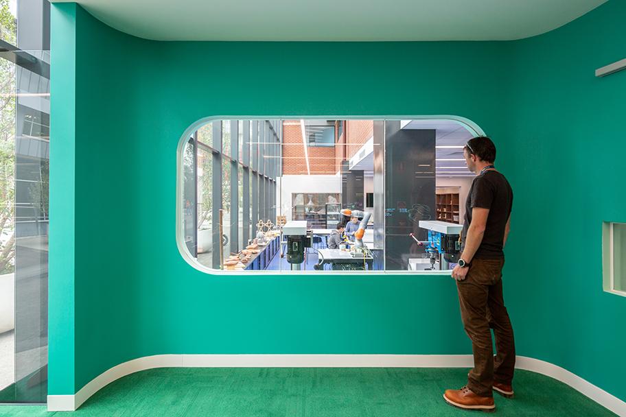 H2O-Architects-Melbourne-Australia-Swinburne University Architecture Workshop Refurbishment-07