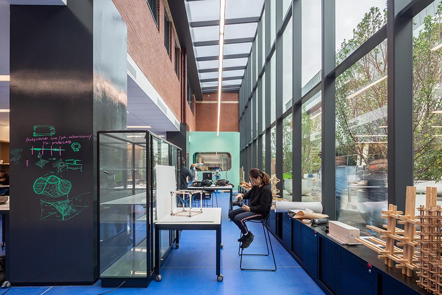 H2O-Architects-Melbourne-Australia-Swinburne University Architecture Workshop Refurbishment-01