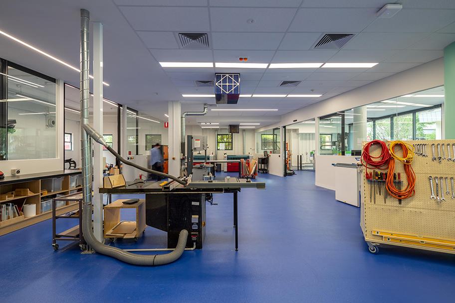 H2O-Architects-Melbourne-Australia-Swinburne University Architecture Workshop Refurbishment-11