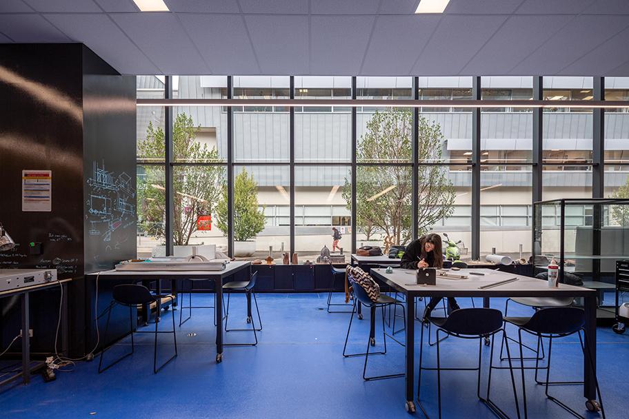 H2O-Architects-Melbourne-Australia-Swinburne University Architecture Workshop Refurbishment-13